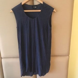 Wilfred Free Blue Loose Sleeveless Top